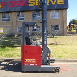Refurbished Nichiyu 9M Electric Reach Truck