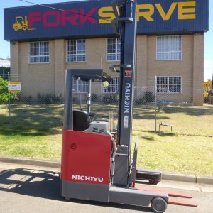 Refurbished Nichiyu 8M Electric Reach Truck