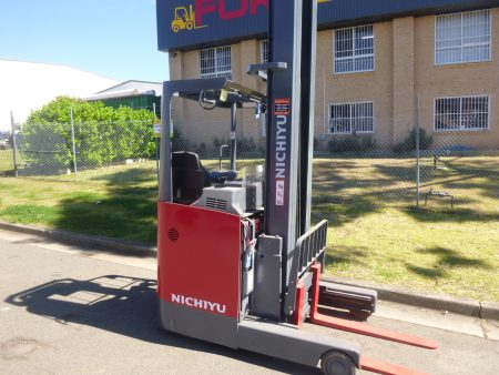 Refurbished Nichiyu 6M Reach Truck
