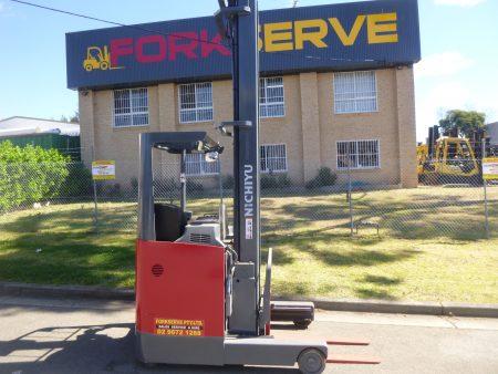 Refurbished Nichiyu 8M Electric Reach Forklift