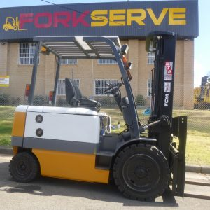 Refurbished TCM Electric Container Mast Forklift