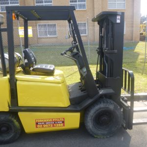 Refurbished Yale Container Mast Forklift